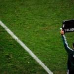 サッカーの審判の時計